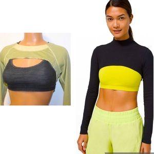 Lululemon Super Cropped Long Sleeve Shirt Shrug
